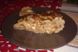 torta di mele con caramello_fetta